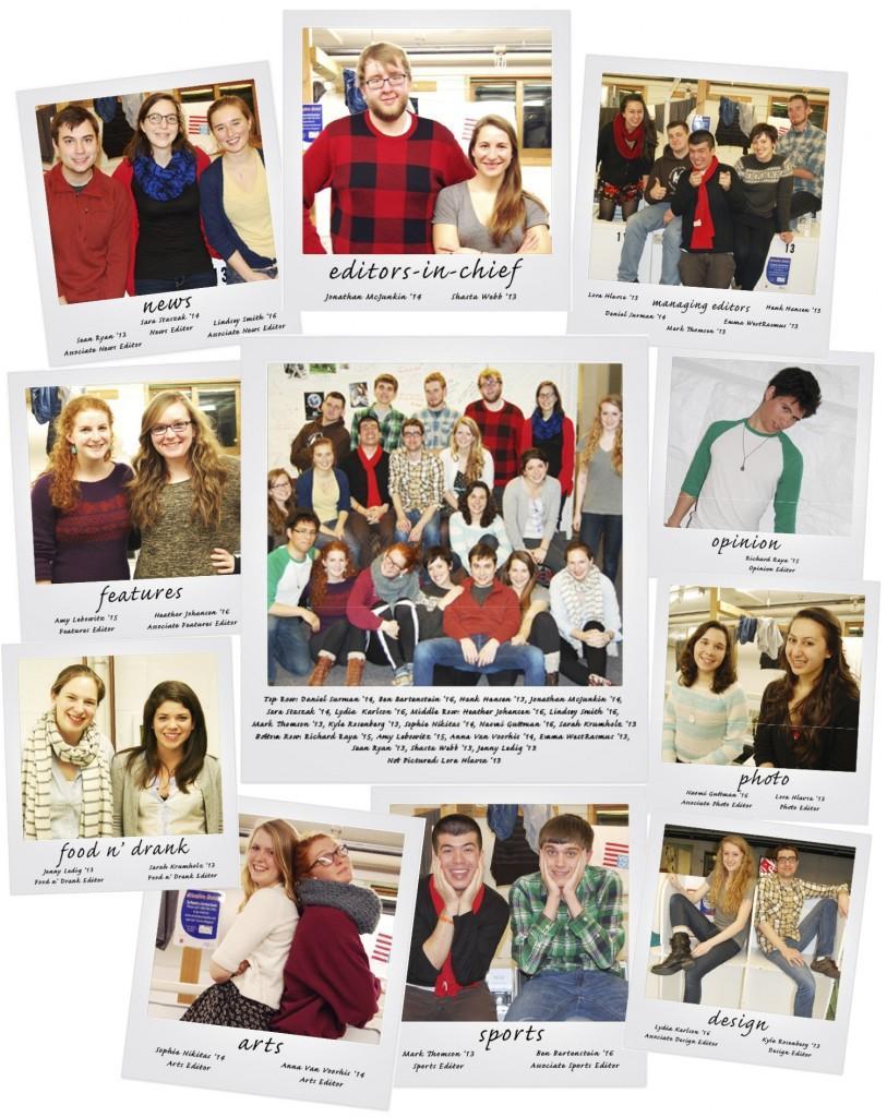 Meet the Spring 2013 Staff