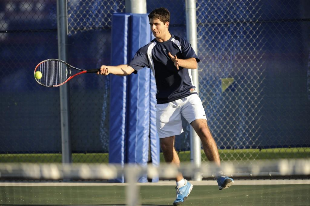 Men's tennis team looks to start season on winning note