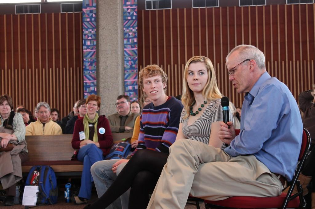 Bill McKibben speaks to campus about climate change, divestment