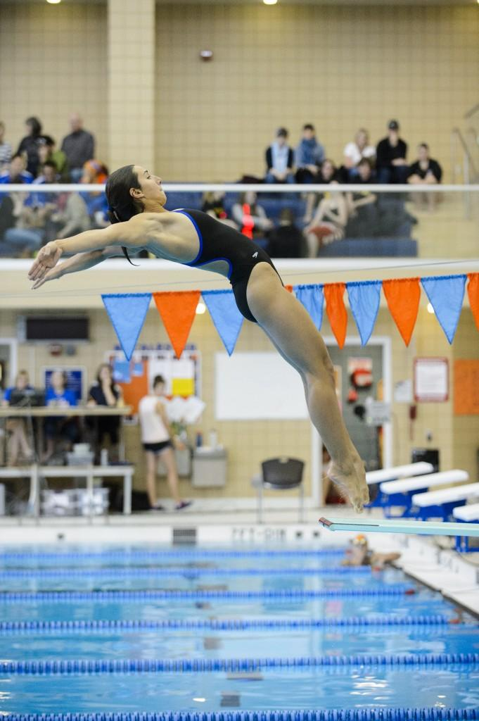 The Renee Jordan Story: Record-setting All-American diver parlays pool dominance into academic success