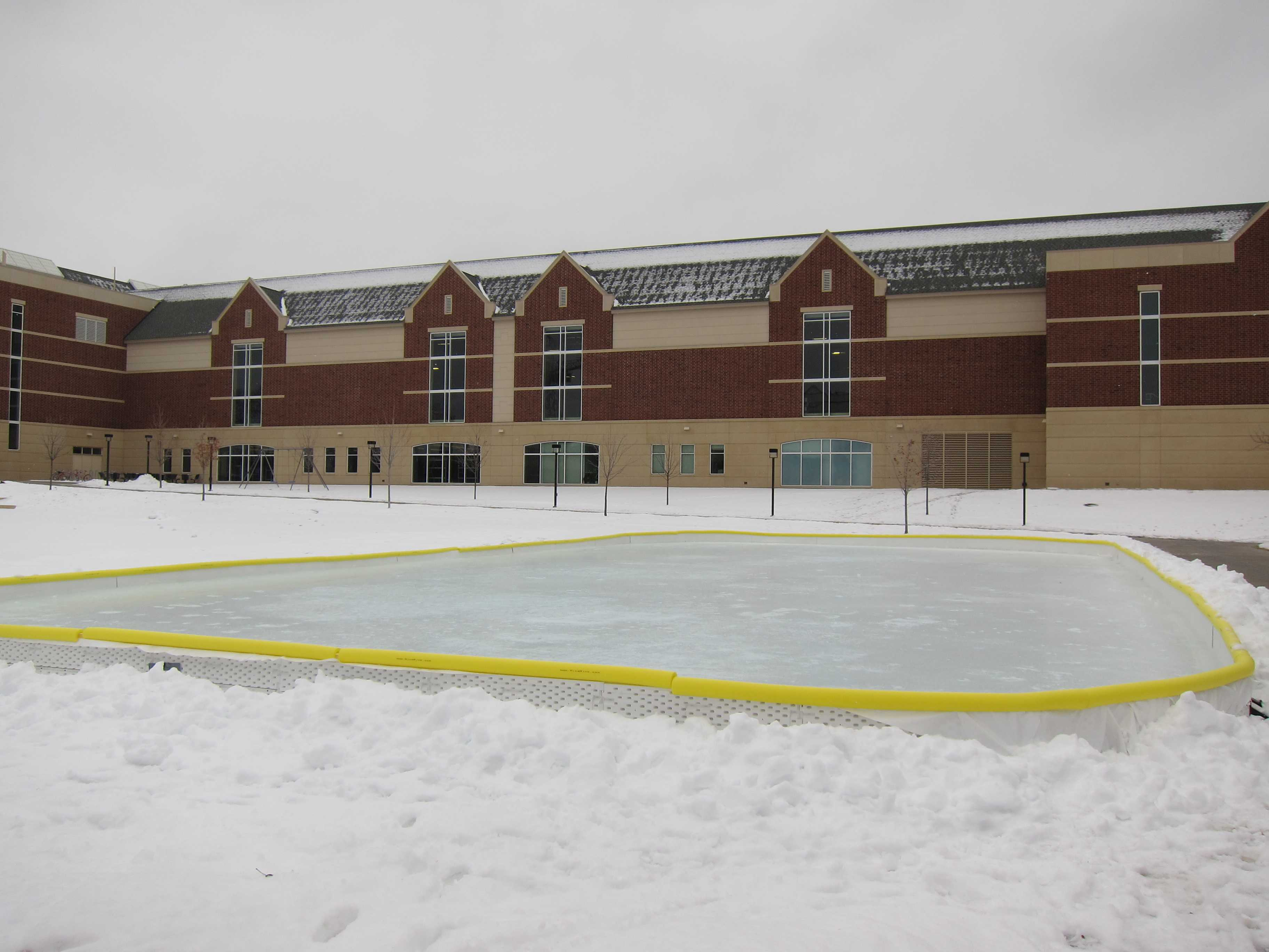 Ice rink opens to mixed reviews