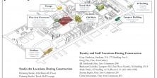Temporary Art Campus Map