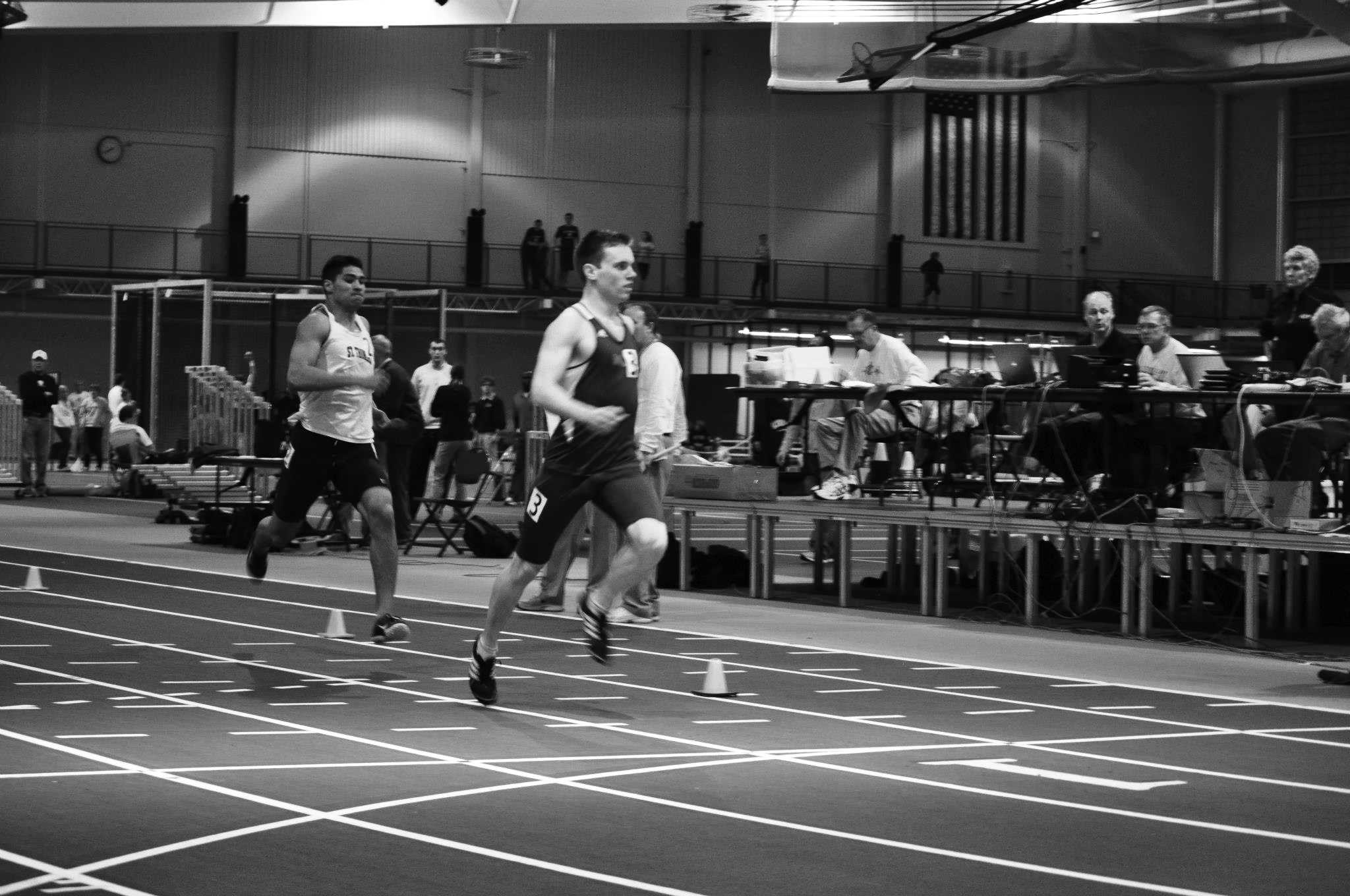 Sebastian+Roemer+%E2%80%9915+finishes+his+800m+race.+Roemer+placed+4th+in+the+4-lap+showdown.+Photo+courtesy+of+Joe+Gibson.