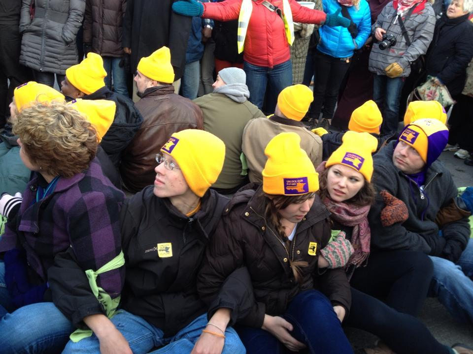 KWOC student activists on their arrests, civil disobedience