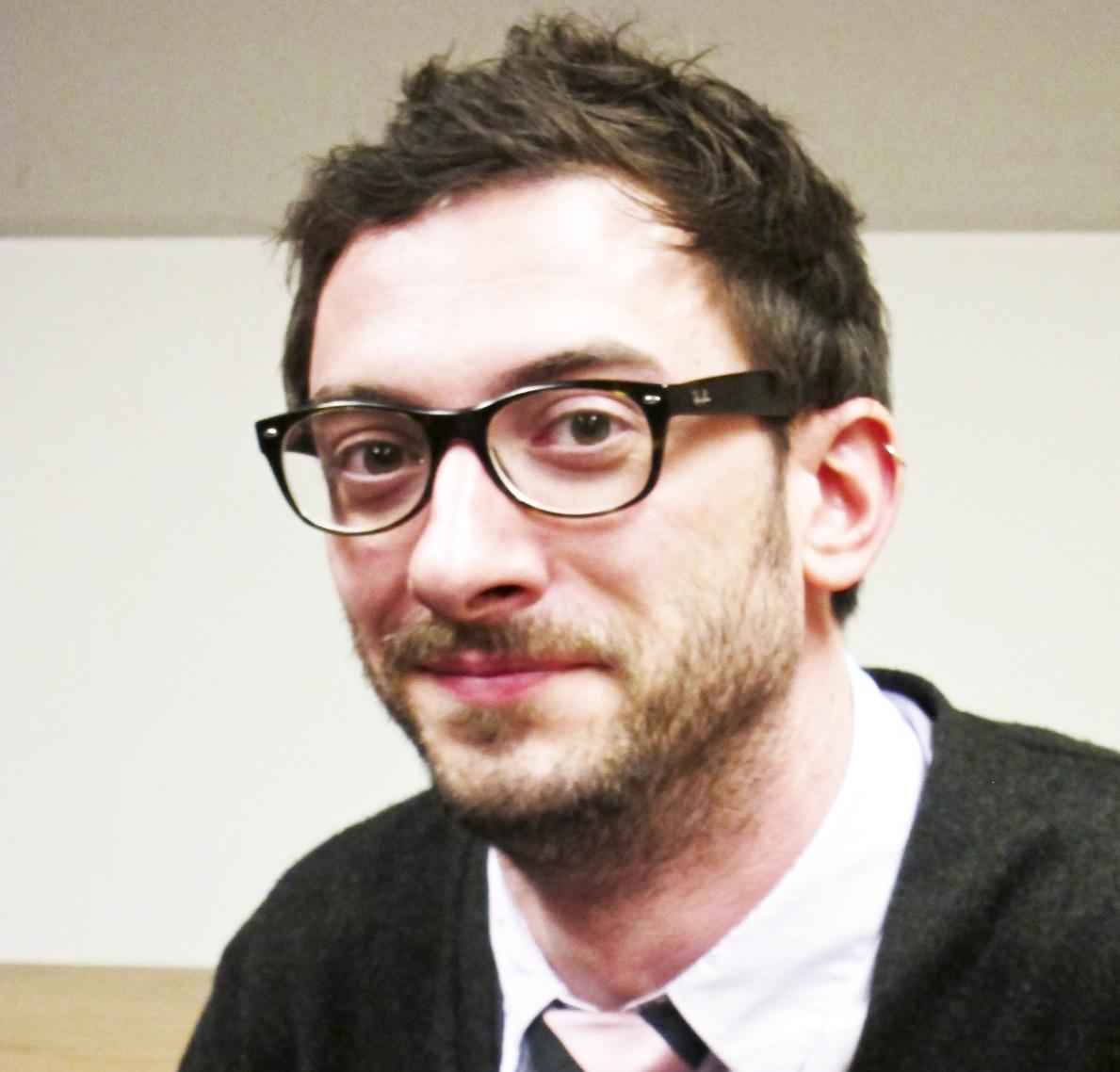 Prof Talk: Eric Roubinek proves himself German(e) at Mac