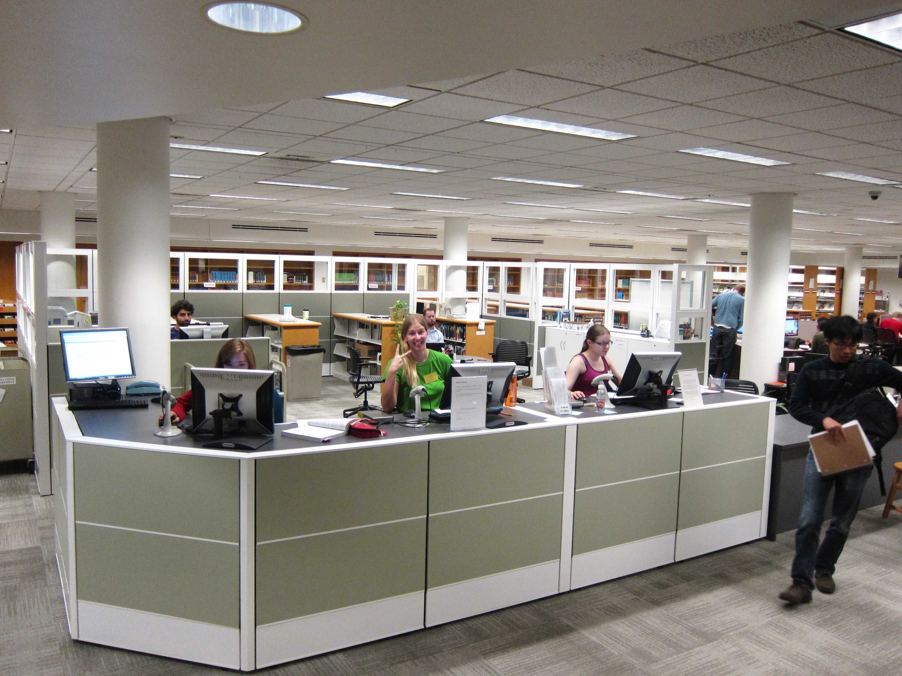 Students and staff react to library redesign