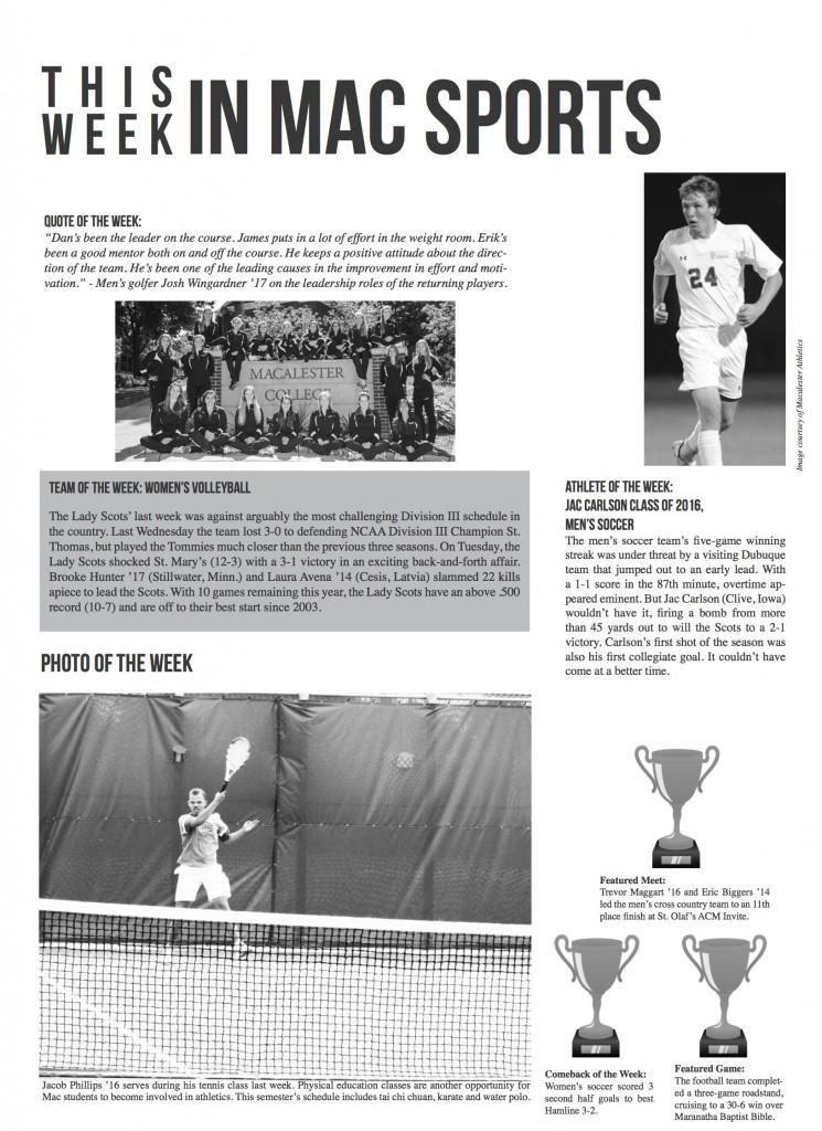 This Week in Mac Sports: Week of September 27