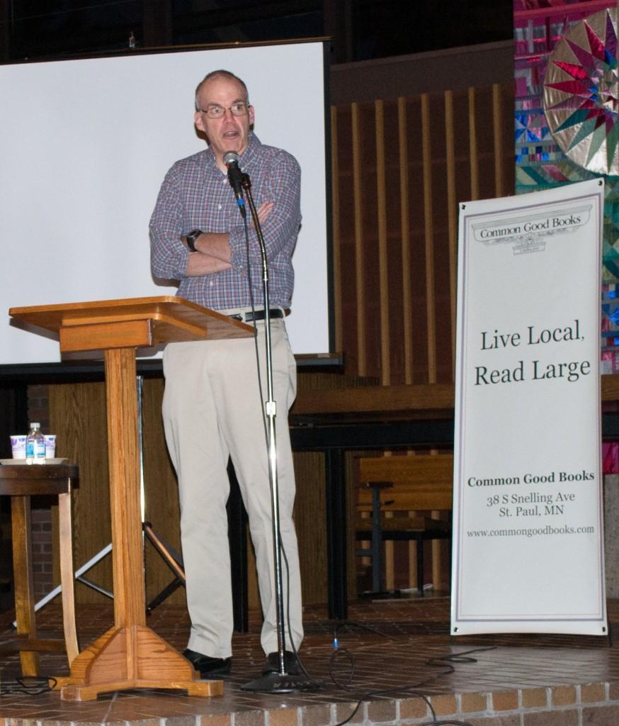 Environmentalist Bill McKibben returns to promote new book