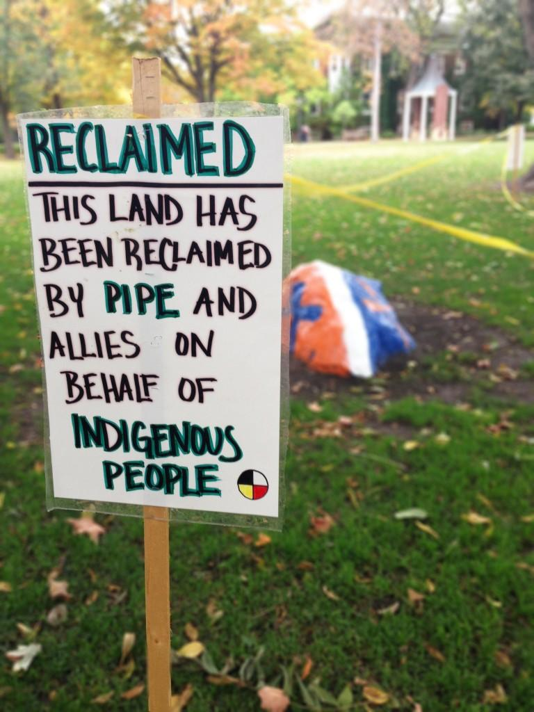 PIPE counters Columbus Day with indigenous history awareness
