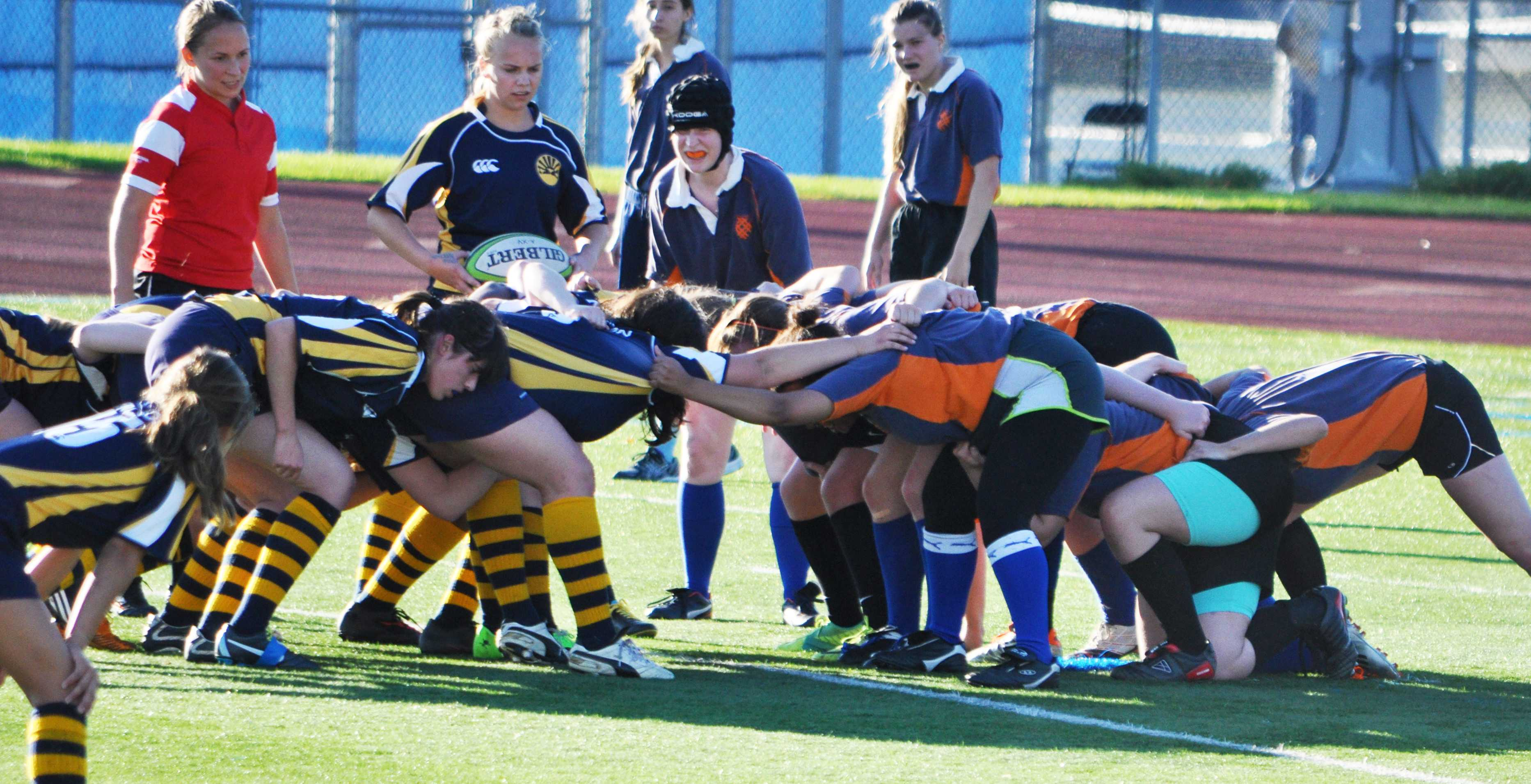 Women's Rugby tackles club sports