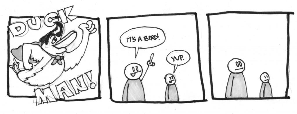 Cartoon: It's Duckman!