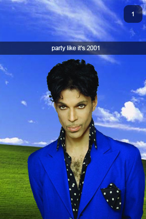 In my pajamas with Prince// A verbal snapchat