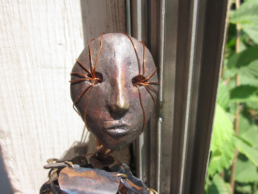 """Sidhe"" Bronze, Copper. 2012"
