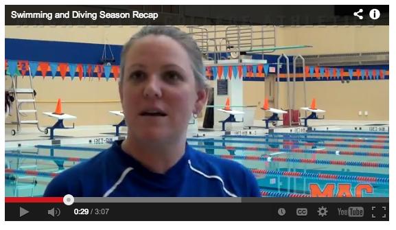 Mac Swimming & Diving set for spirited MIAC Championship performance