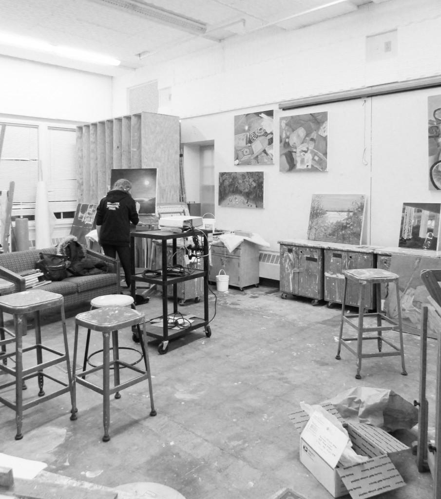 Temporary art studios now empty, undergoing transformations: Alternative facilities posed unusual challenges to student work, teaching