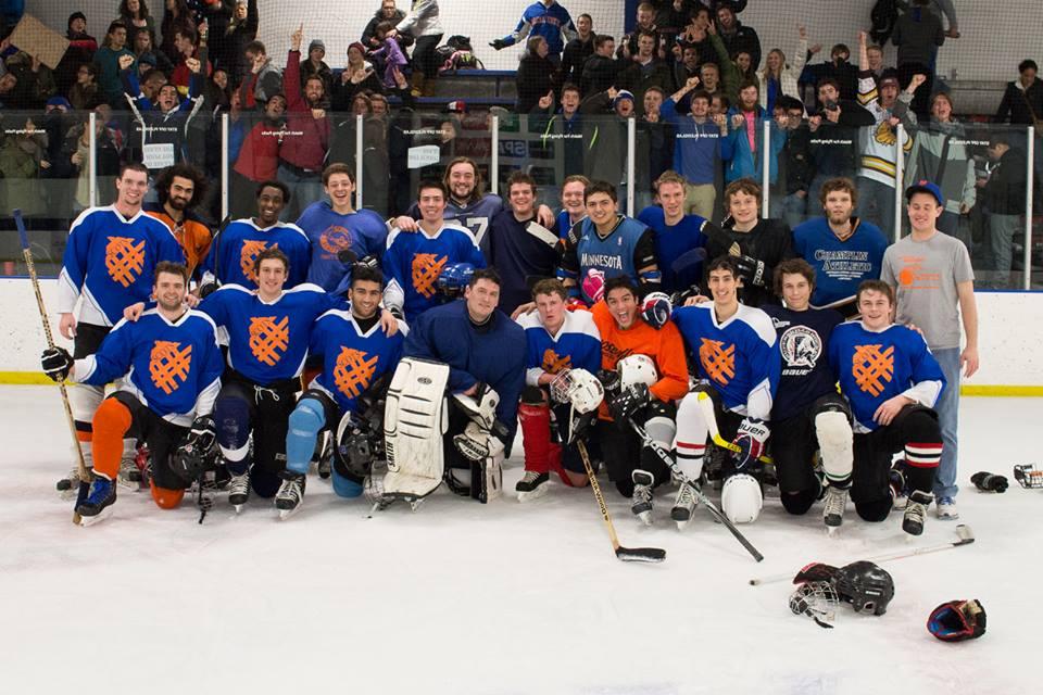 Fan enthusiasm revitalizes Men's Club Hockey team