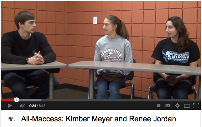 All-Maccess: Kimber Meyer and Renee Jordan