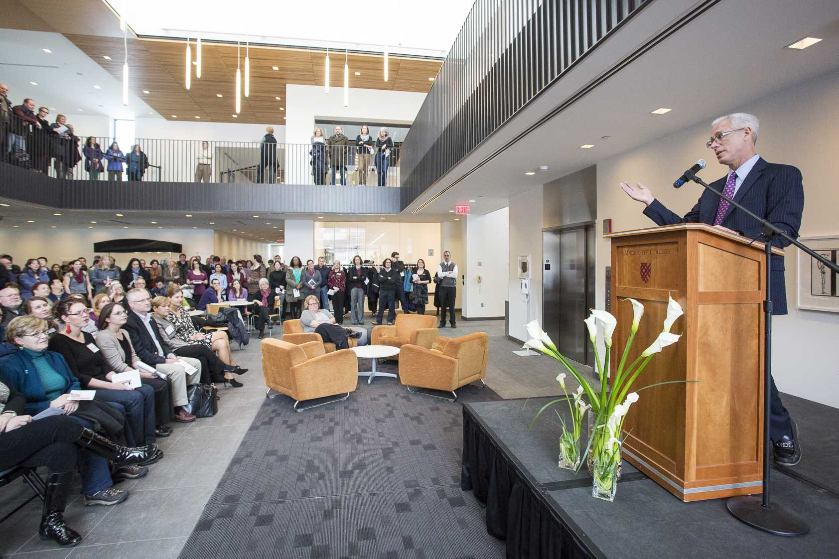 Studio Art Building Dedication