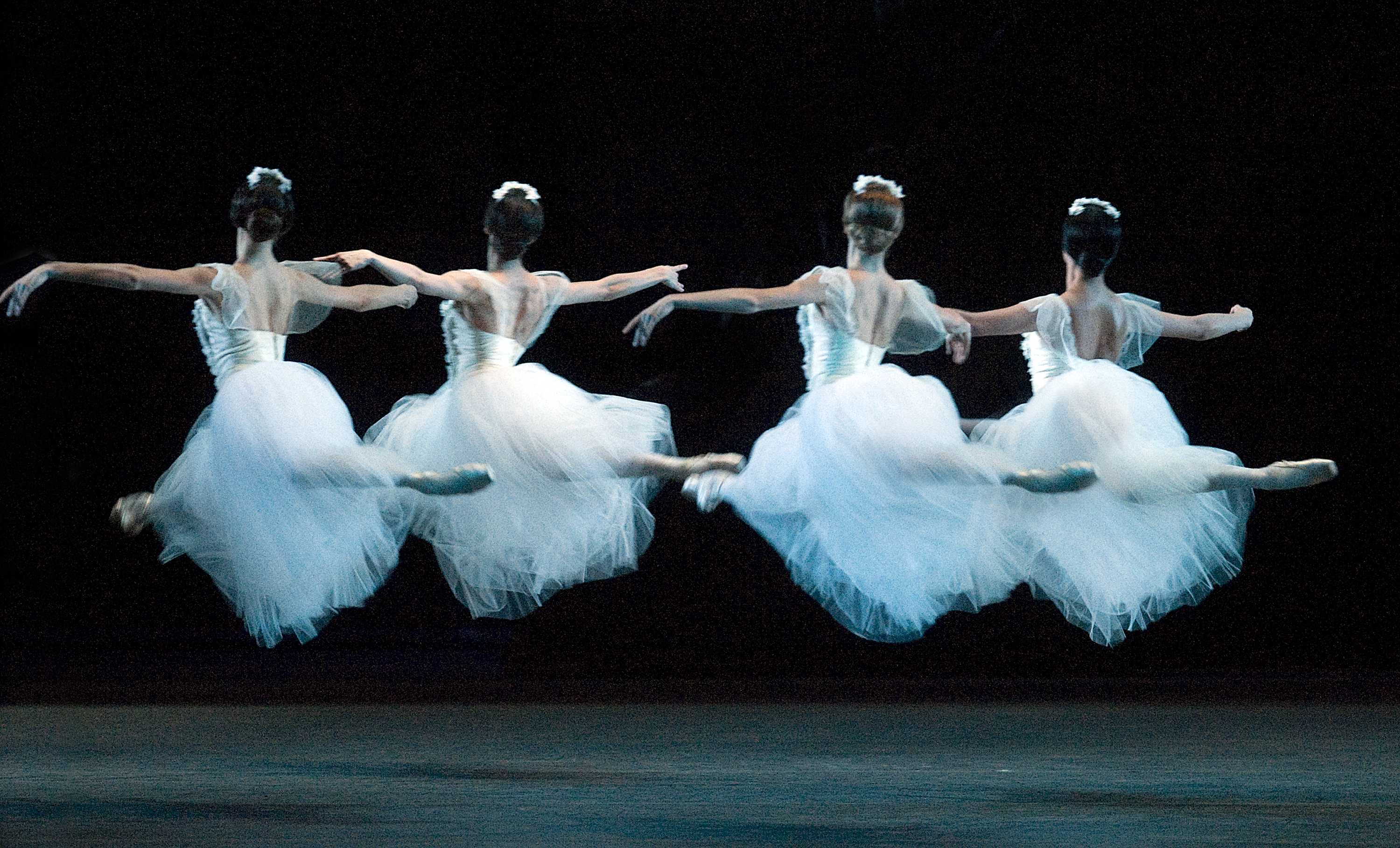 "Dancers from American Ballet Theater in ""Giselle"". Photo Courtesy of Auditorium Theatre."