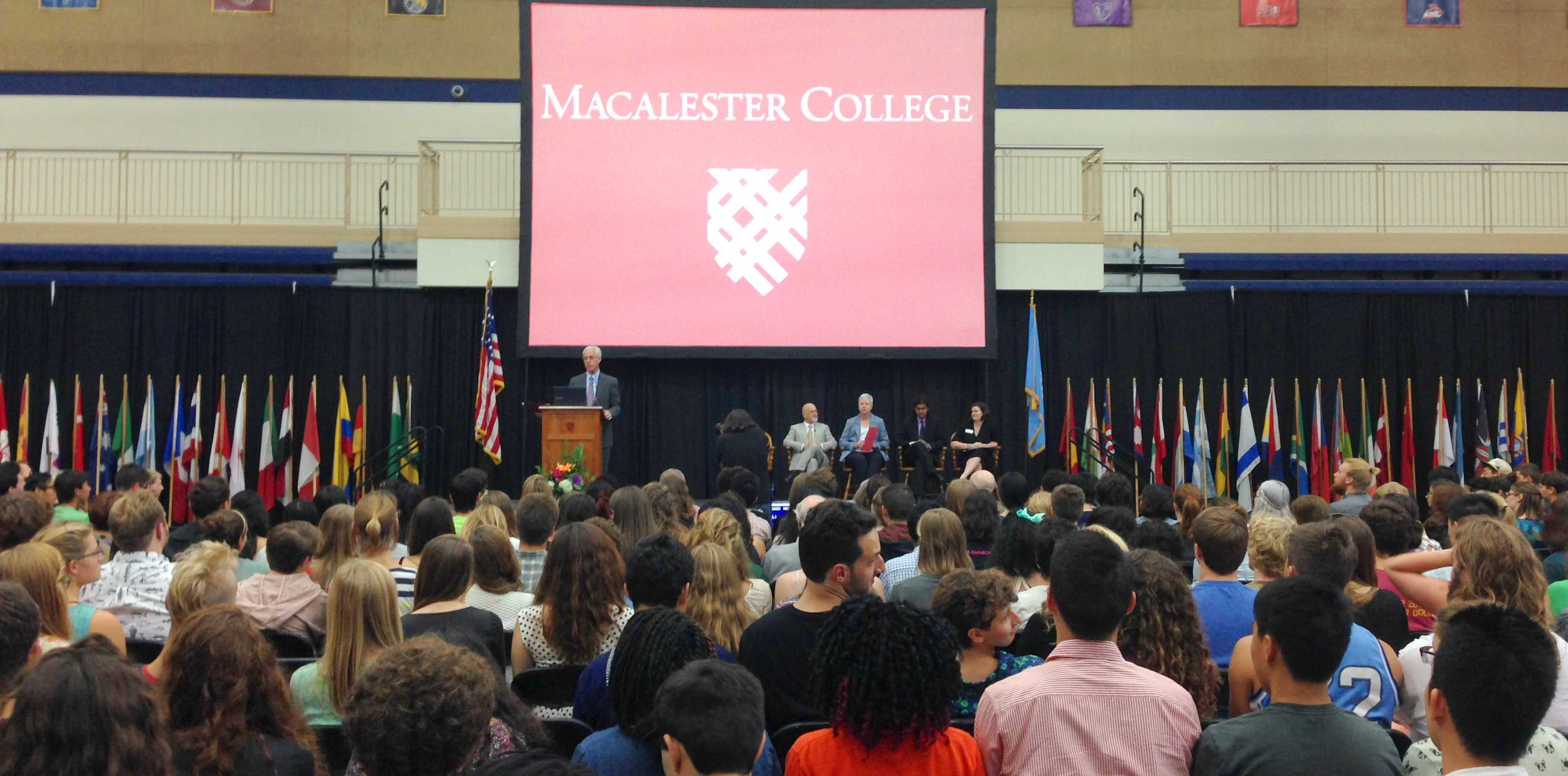 Convocation 2014. Photo by Maddie Jaffe.