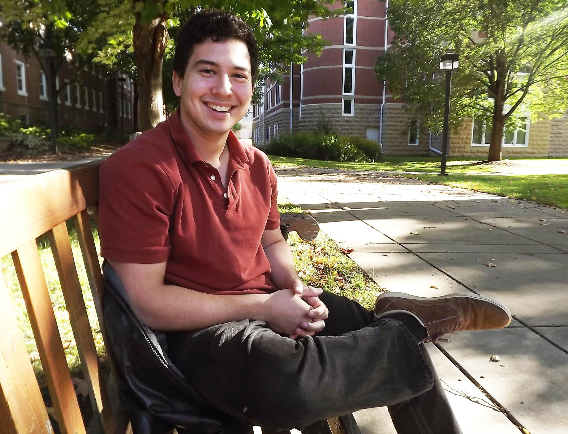 Caballero'15 grew up in Paraguay but came to the U.S. for high school and college. He says his identity is