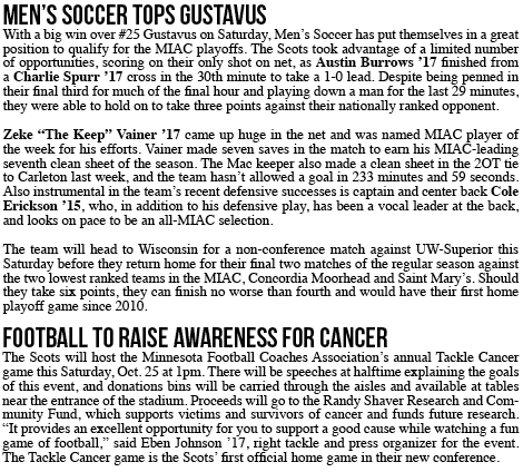This Week in Mac Sports