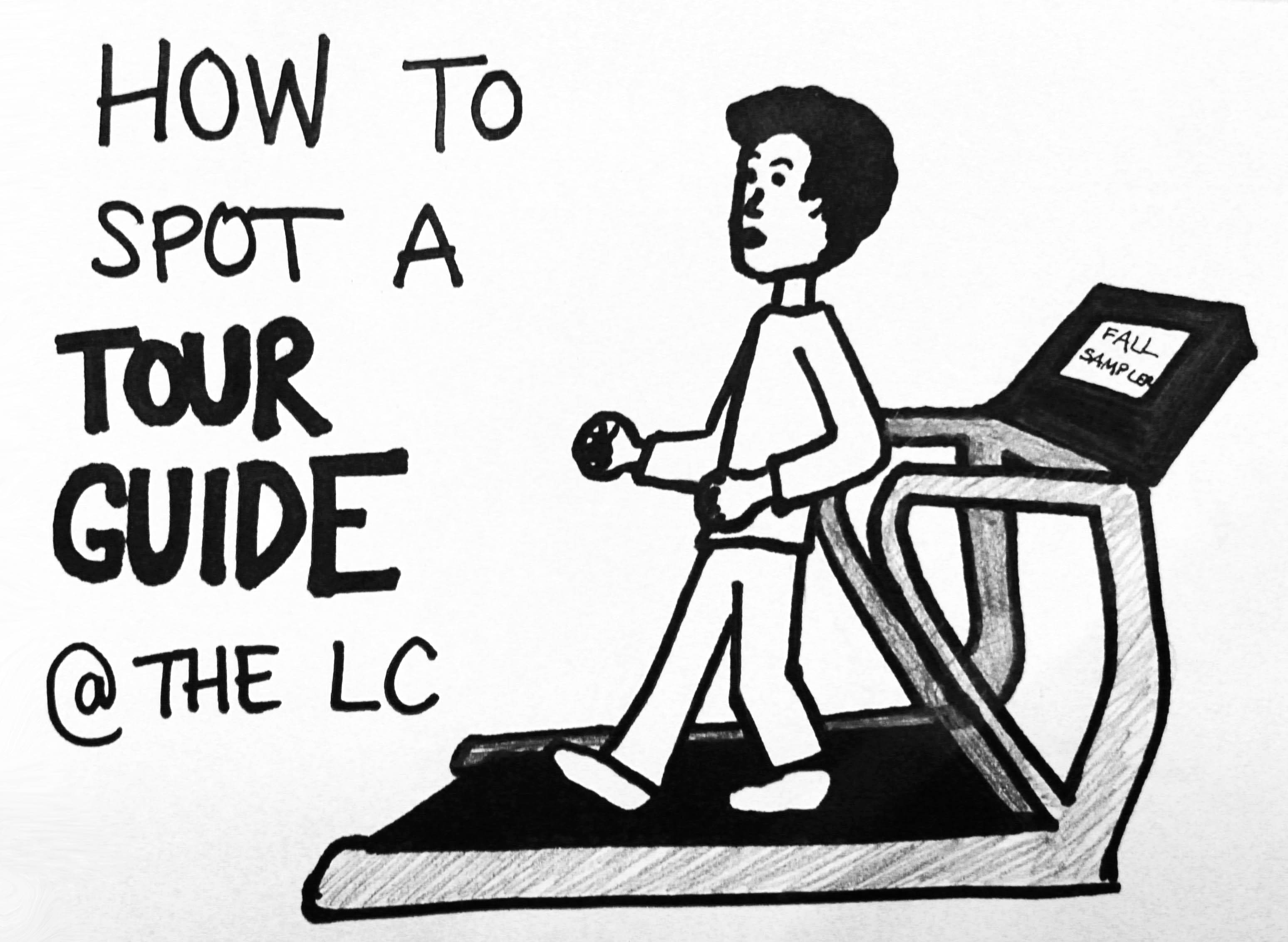 Guest Cartoon How To Spot A Tour Guide The Lc The Mac Weekly
