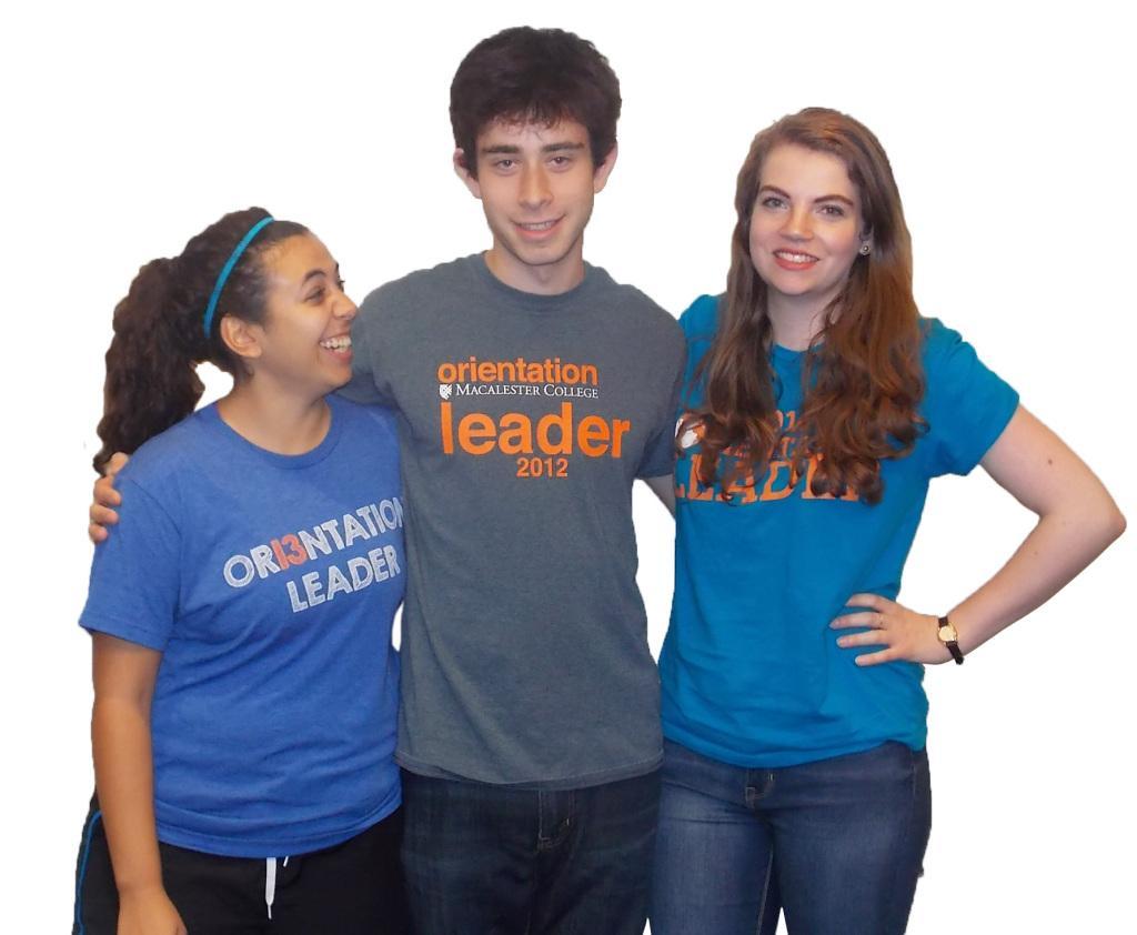 From left to right: Fernanda Canessa; Henry Fremont; Sarah Olander.