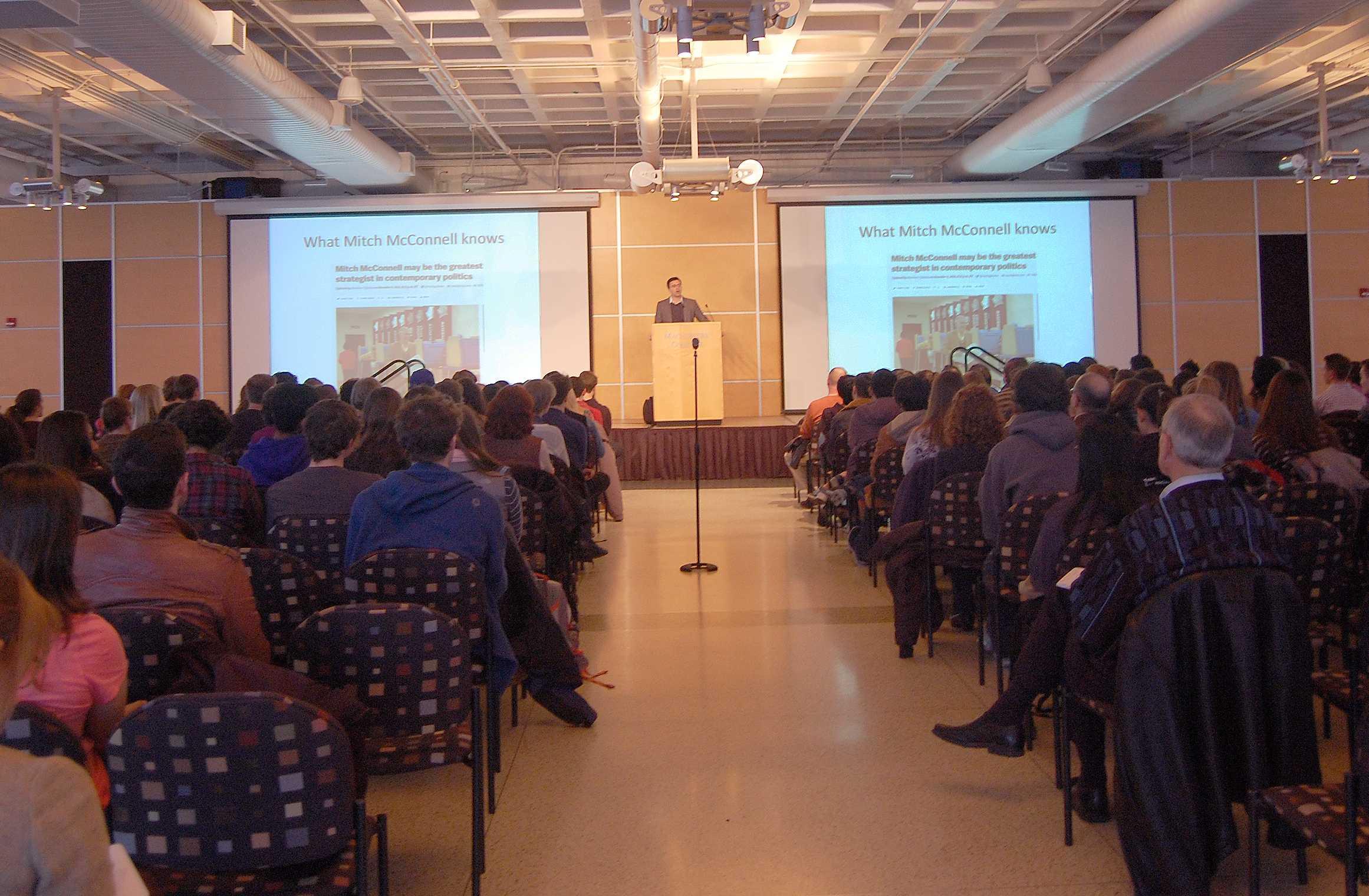 Lectures Coordination Board brings Ezra Klein to campus