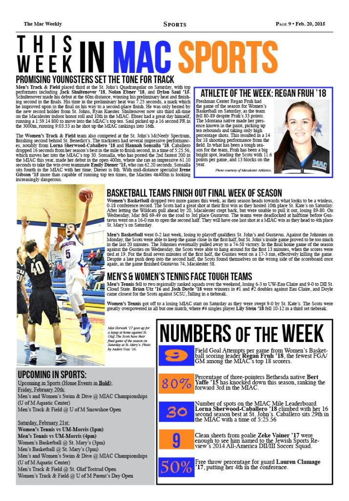 This Week in Mac Sports – 2/20/15