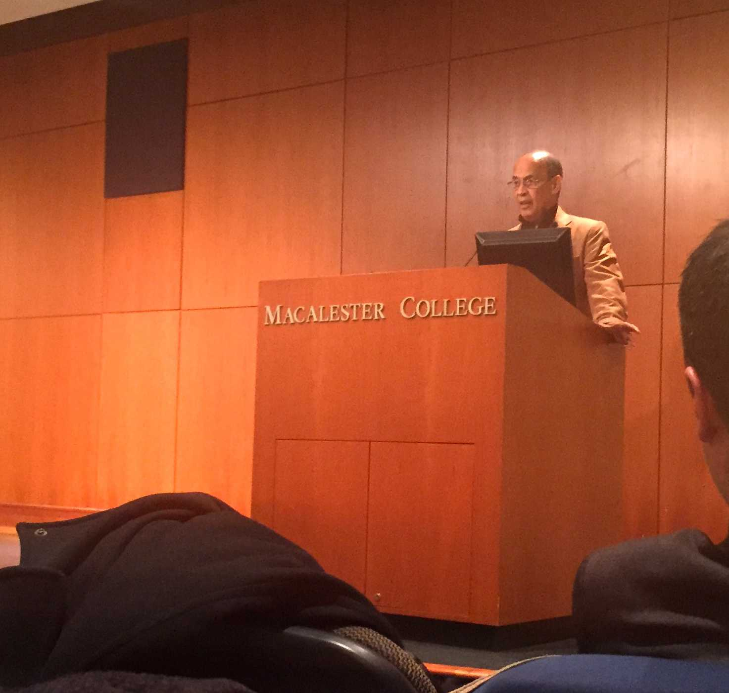 Interview with Adolph Reed, 2015 Mitau Lecturer