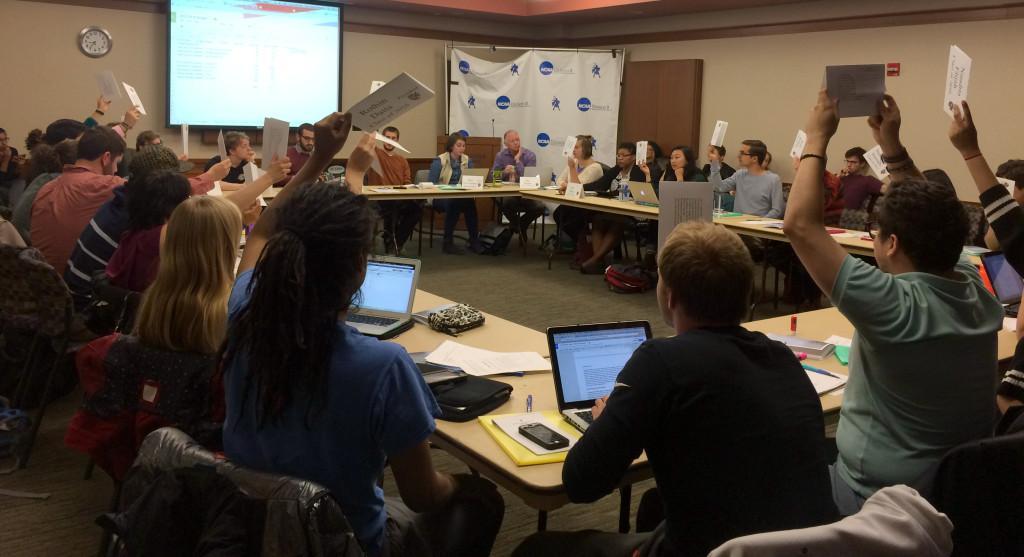 Appeals and cuts complicate, postpone MCSG budget vote