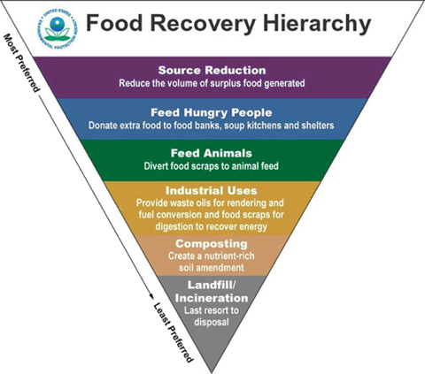 At work with the sustainability network: Food Recovery Network at Macalester