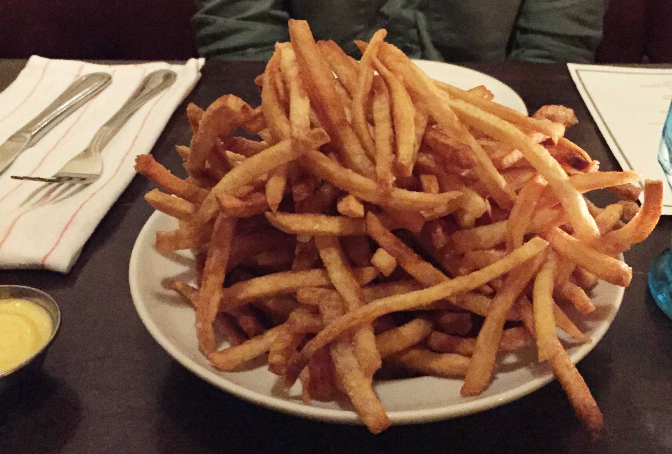 The Great Potato Tour: Barbette's French Frites