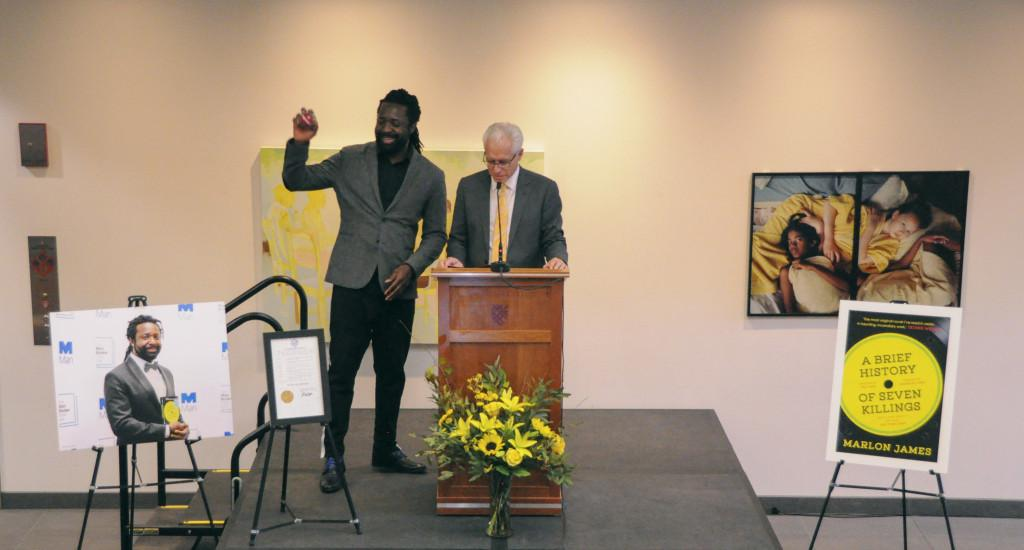 Macalester & Minnesota celebrate Marlon James