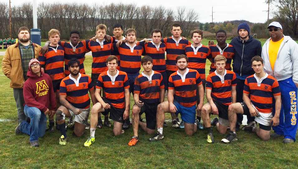 Men's Club Rugby competes in Minnesota State Finals