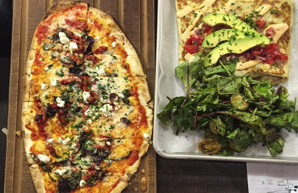 Heather and Joe Go to Grand Central – Review: Mediterranean Flatbread and Tex Mex Crepe