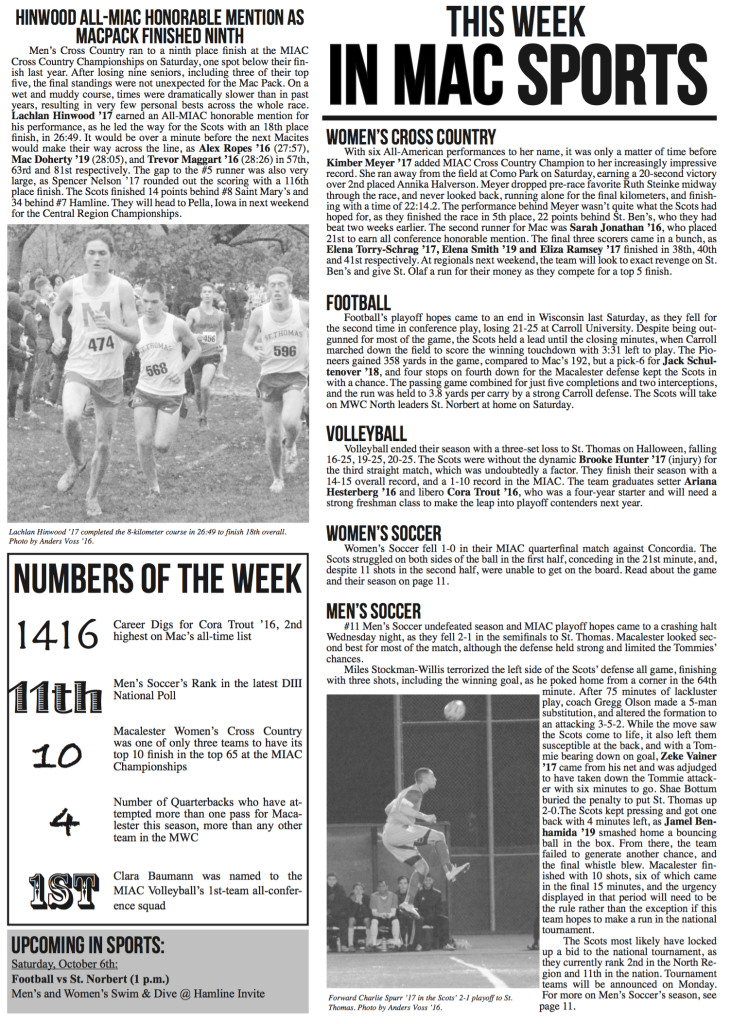 This Week in Mac Sports:11/6/15