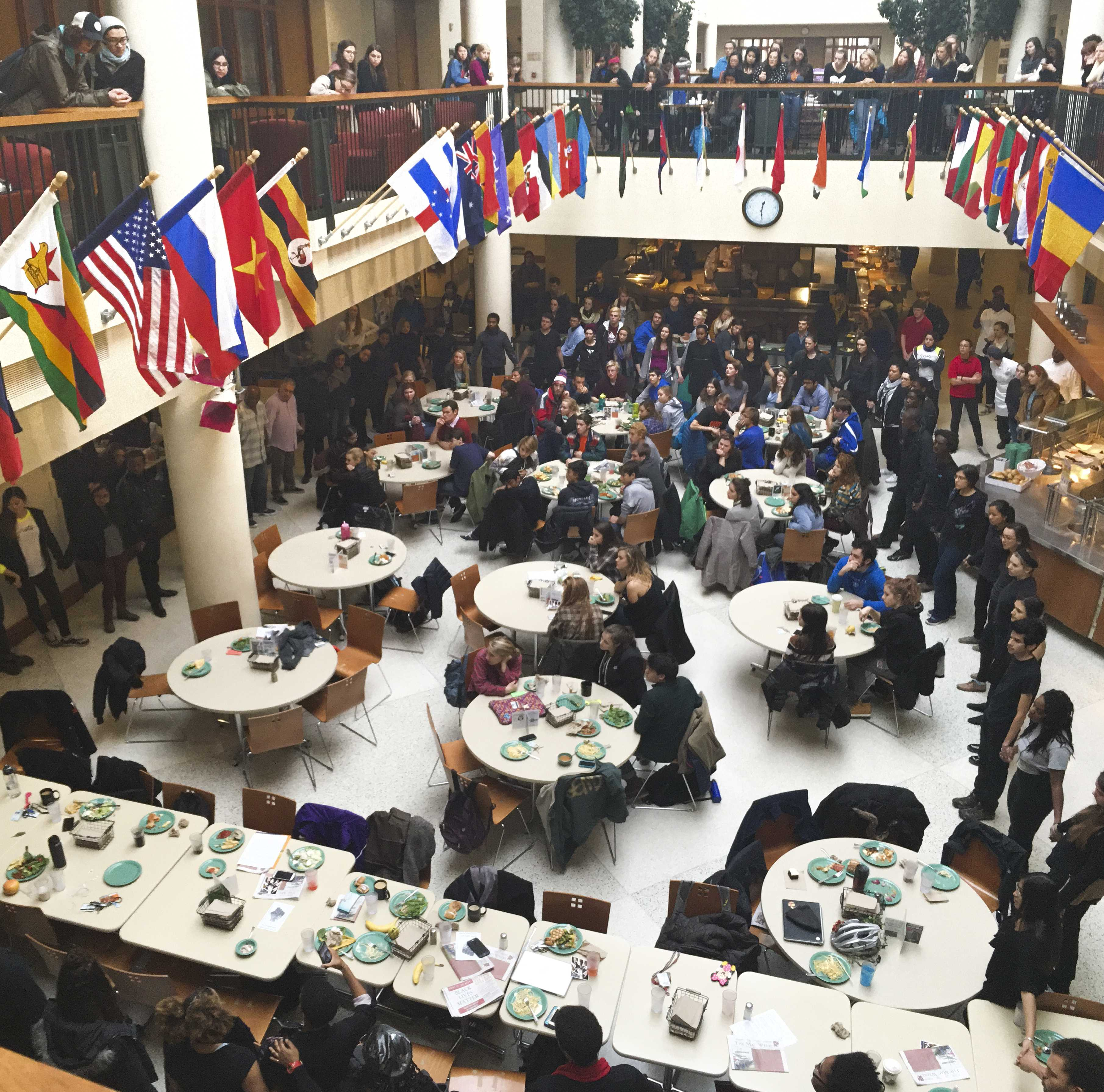 BLAC draws attention to racial injustice through campus demonstrations
