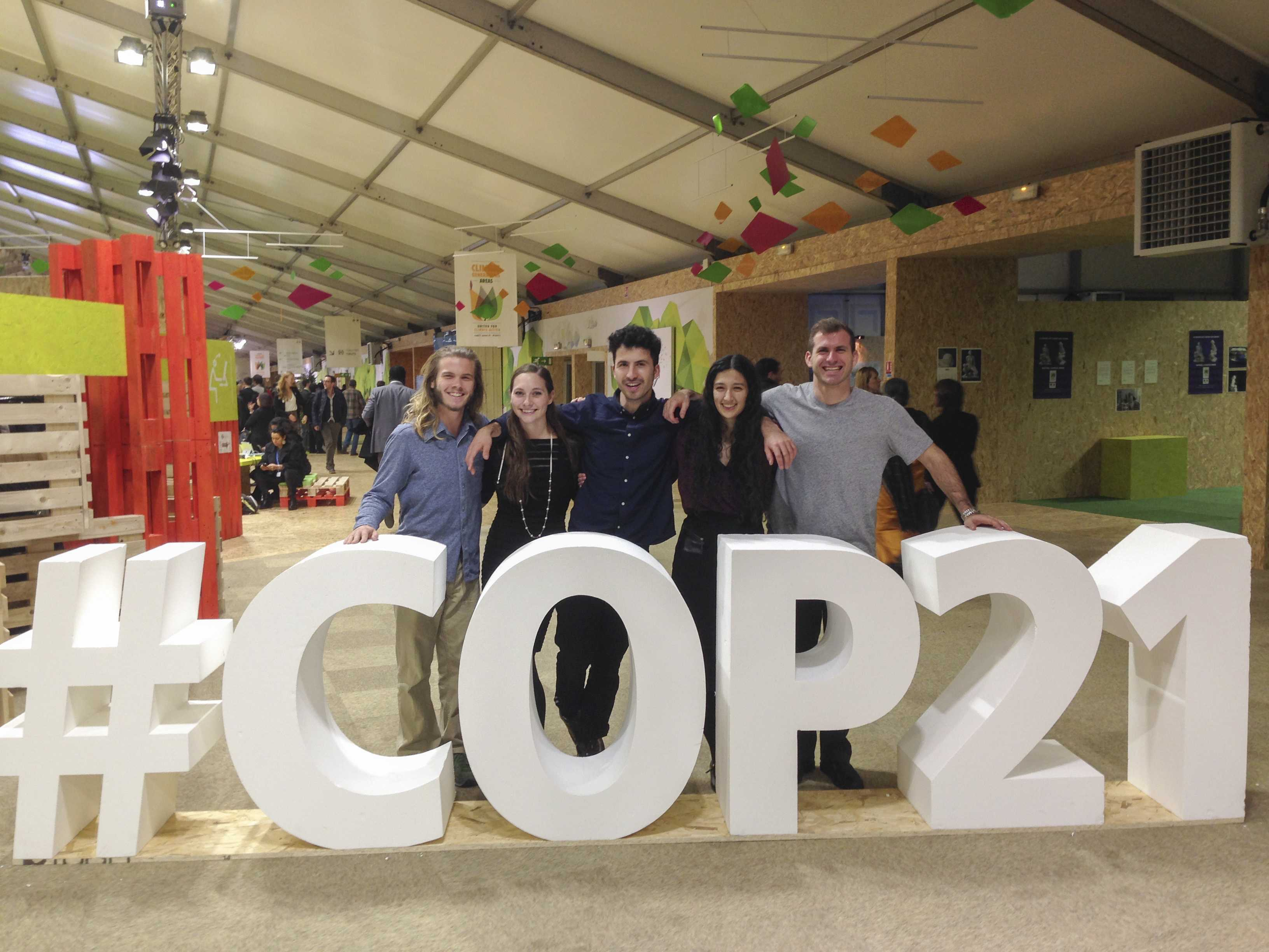 Mac Students at COP21