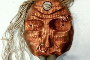 """Mask"" by Egzon Sadiku '16. Photo by Sadiku."