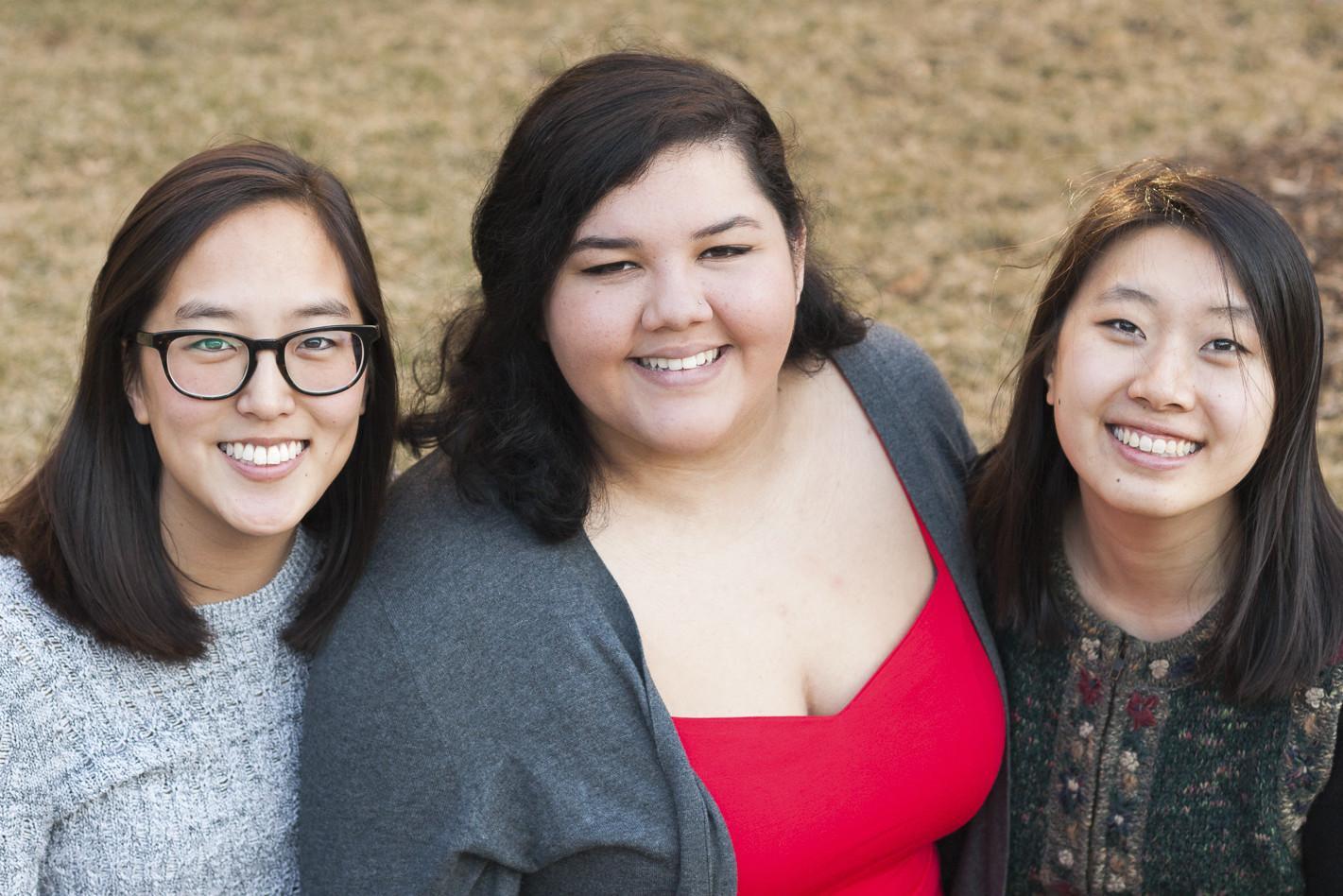 Senior Spotlight: Lillian Hexter, Selena Pruitt and Grace Newton