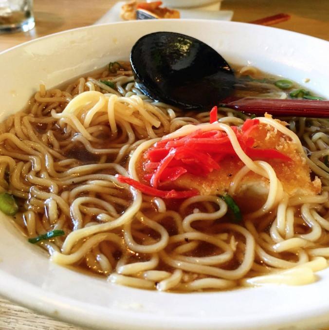A steaming bowl of Obento-Ya ramen. Photos courtesy of Lee Guekguezian '18.