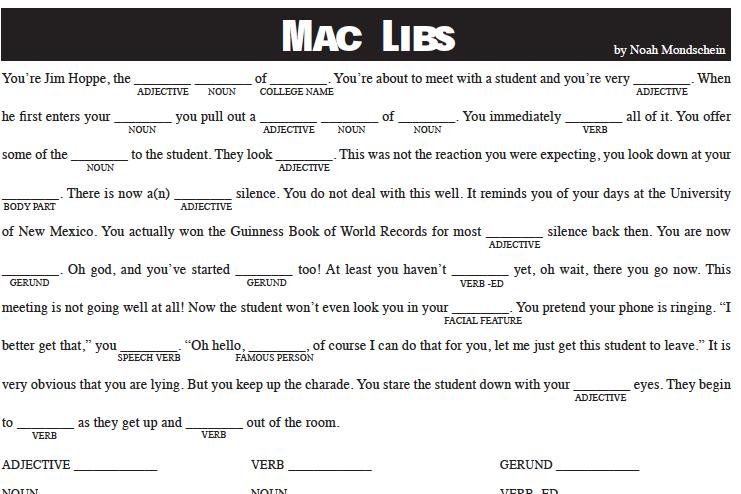 Mac Libs: 4/8