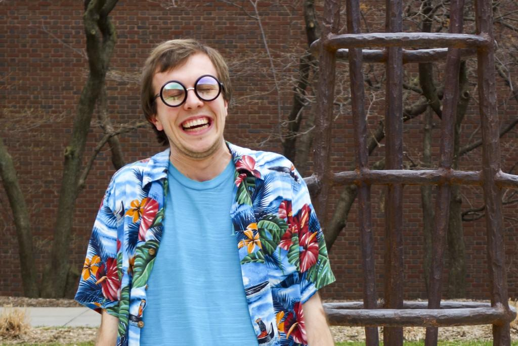 Style File: Andy Kaesermann's colorful wardrobe and bright personality