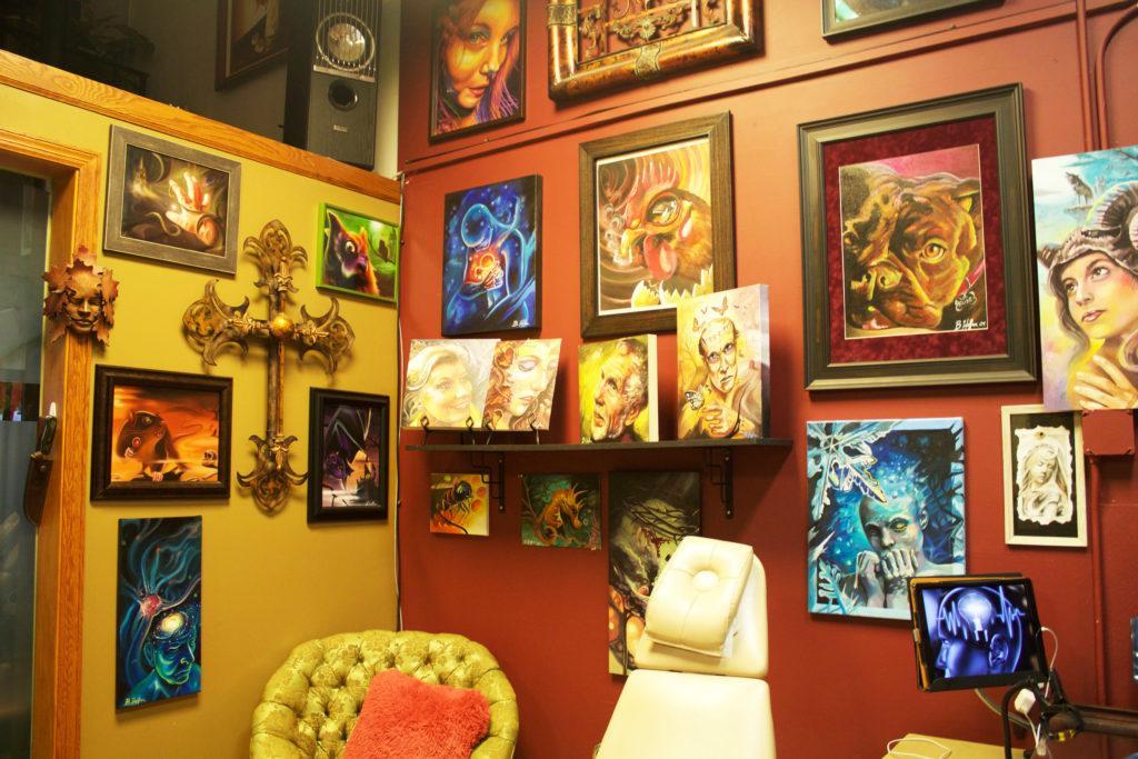 Talking with Beloved Studios tattoo artist Brandon Heffron