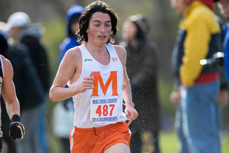 Joe Giamberdino '15 : two years back running with the MacPack