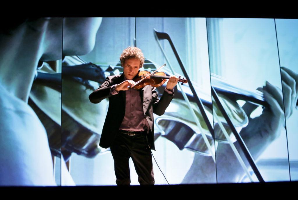 Violinist Tim Fain explores technology through art