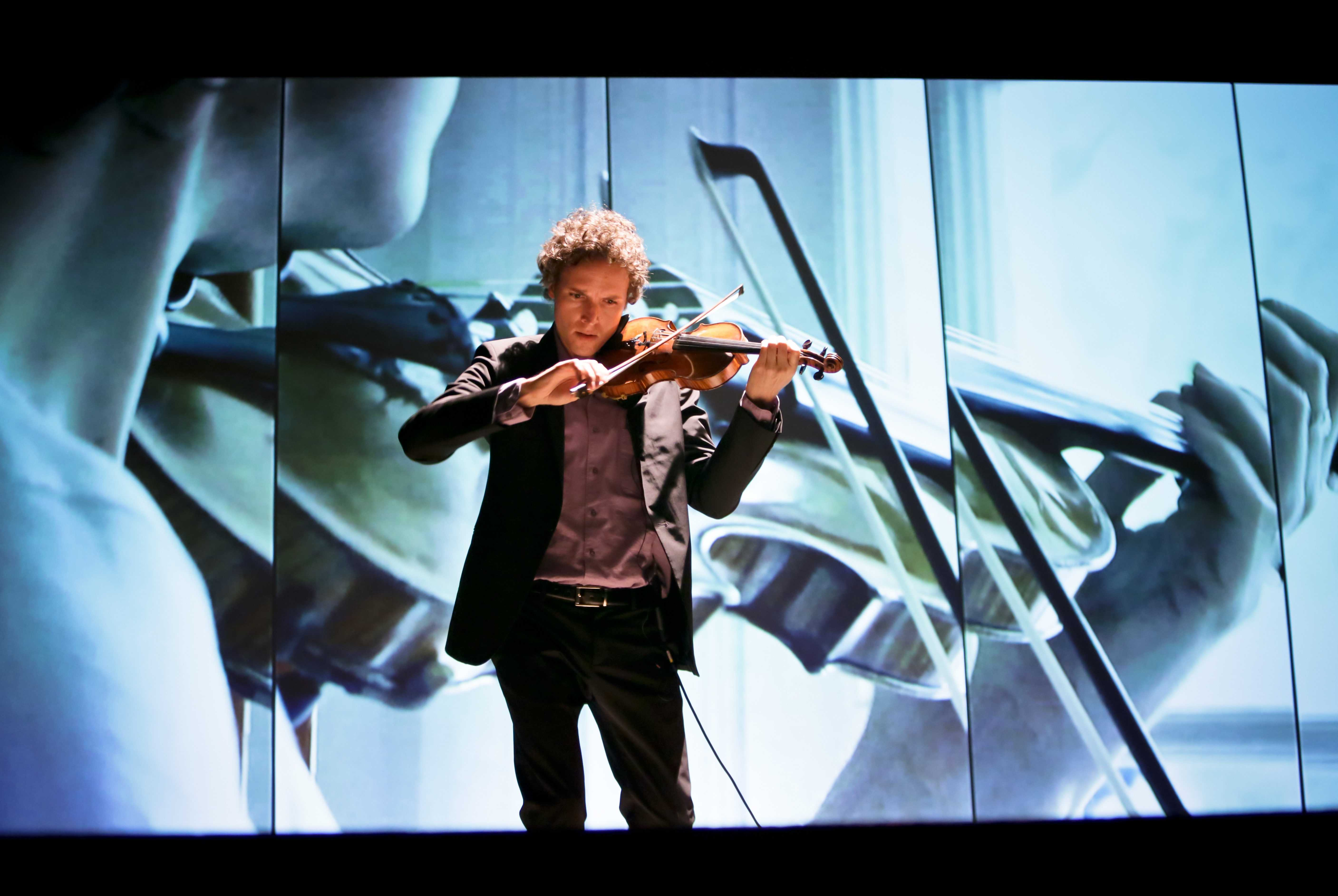 Violinist Tim Fain explores technology through art