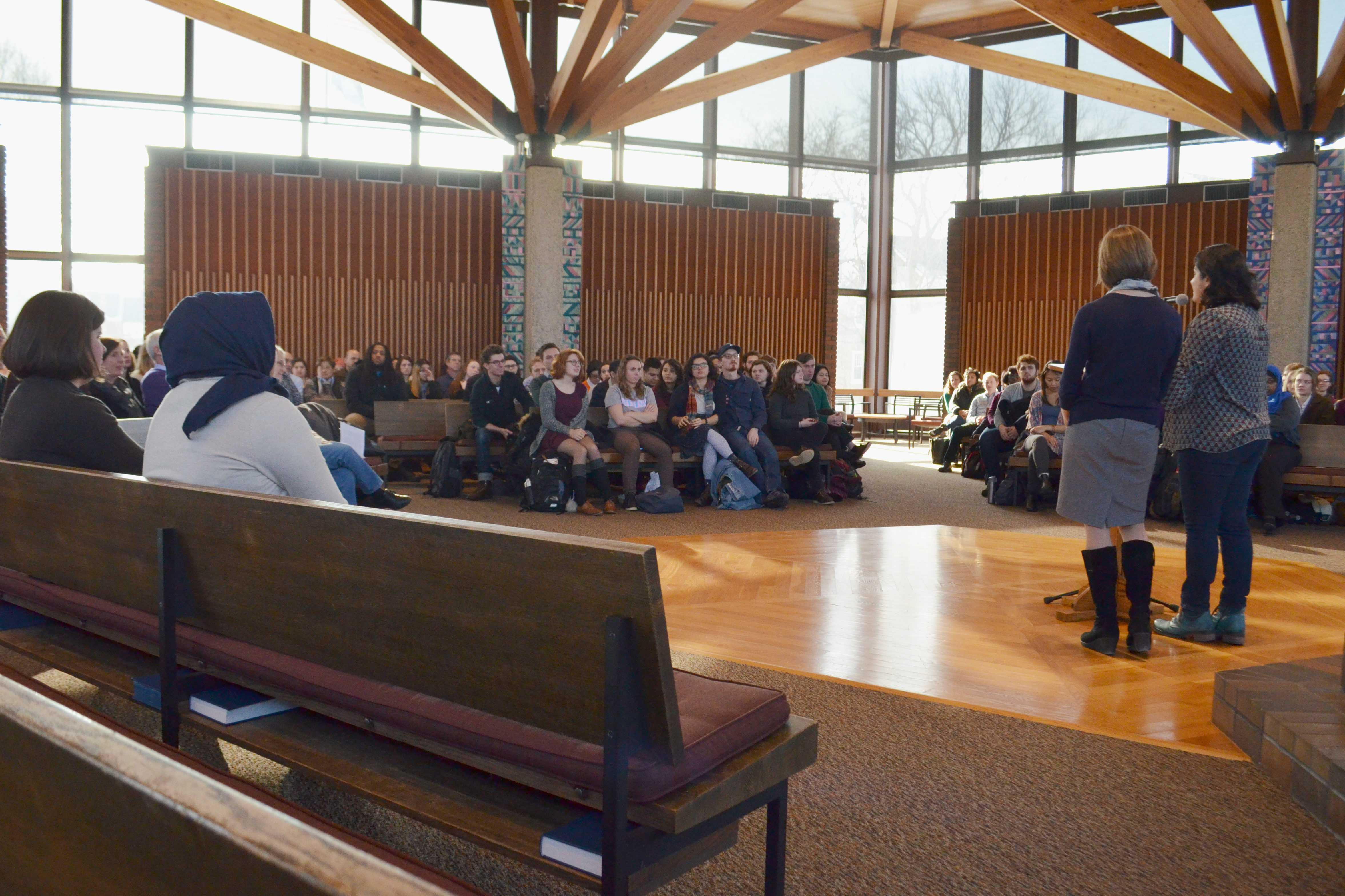 Campus Conversations allow students to discuss political climate